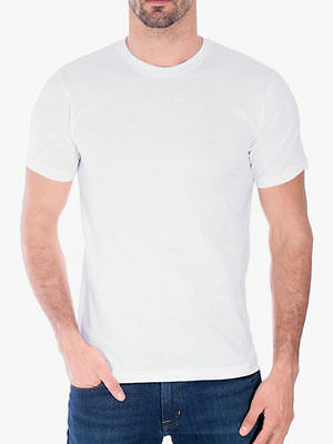 Men/'s Gem Rock Solid Black Crew Neck T-Shirt Size 5X-Large Lot of Brand New! 3