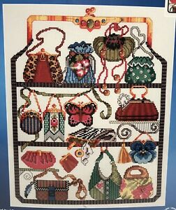 Janlynn-Cross-Stitch-Purse-Collection-Kit-Beads-Embellished-Shopping-023-0140