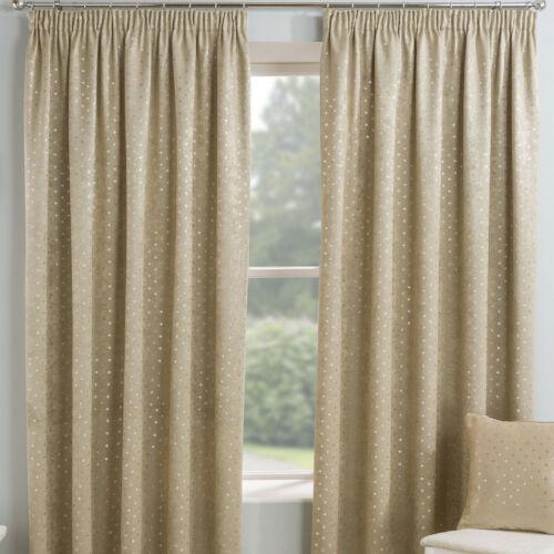 Gemini Blockout Light Reducing curtains Blush Grey Or Natural