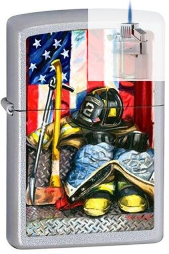 Zippo 205 Paul Walsh Symbol A Hero Lighter & ZPLUS INSERT BUNDLE