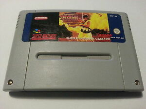 Samurai-Shodown-Super-Nintendo-SNES-PAL-AUS-NZUK-EUR-Very-Good-Condition
