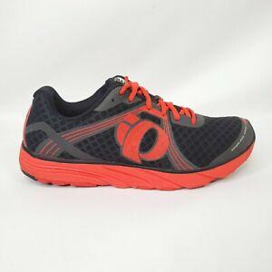 Men-s-Pearl-Izumi-EMotion-EM-Road-H3-Black-Red-Running-Shoes-H-3-Size-8-5-MINT