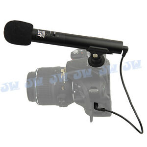 JJC-DSLR-Video-Mini-Shotgun-Microphone-For-Camera-3-5mm-Jack-Standard-Hot-Shoe
