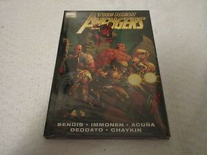 Marvel-Premiere-Edition-The-New-Avengers-Volume-2-Comic-Book-Hardcover-Sealed