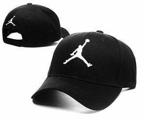 ... shop image is loading classic black white jordan logo unisex baseball  cap c9582 8caf6 135d0ff101f