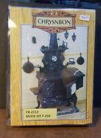 Dollhouse Miniature Cook Stove Kit Chrysnbon 1:12 Inch Scale E72 Dollys Gallery