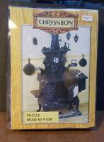 Dollhouse Miniature Cook Stove Kit By Chrysnbon 1:12 1 Inch Scale E72