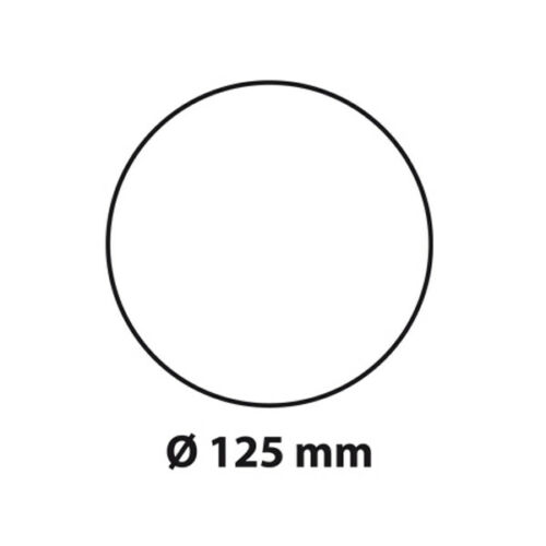 weiß 651263 BIELMEIER Dunstabzugsschlauch System 125 RUND