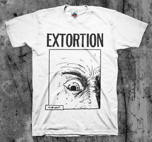 EXTORTION 'eye' T shirt Spazz Infest Drop Dead Hirax | eBay Drop Dead Clothing History