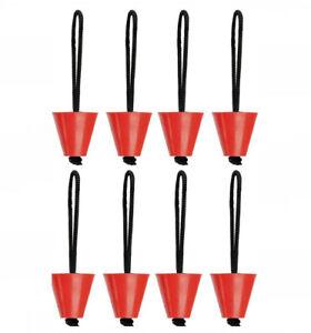 Pack Of 8 Universal Kayak Scupper Plug Kit Fit Hobie