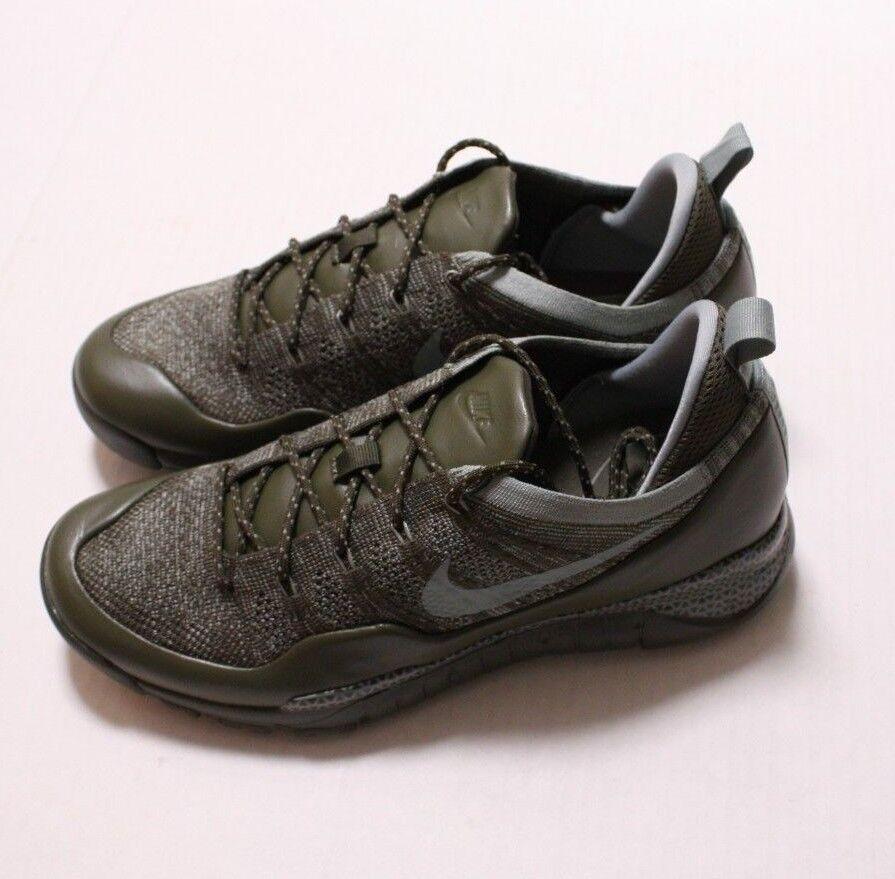 Nike Lupinek Flyknit Low Men's Sneaker, Size 8, 882685 300, Org 225