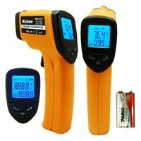 Infrared Temperature Gun Laser Thermometer Home Inside Outdoors No Contact