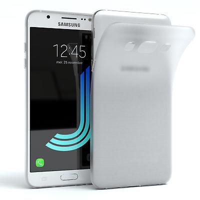 Schutz Hülle für Samsung Galaxy J5 (2016) Cover Handy Case Matt Transparent
