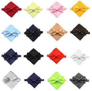 Mouche-Enfants-plastron-Mariage-Communion-Costume-Cravate-enfants-mouche