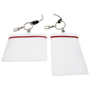 Ultimate-Teacher-Badge-Holder-Resealable-amp-Clear-Heavy-Duty-for-ID-Keys-amp-USB