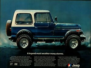 "Look 9"" x 12"" New Metal Sign Several Models Shown Jeep FC CJ Vtg"