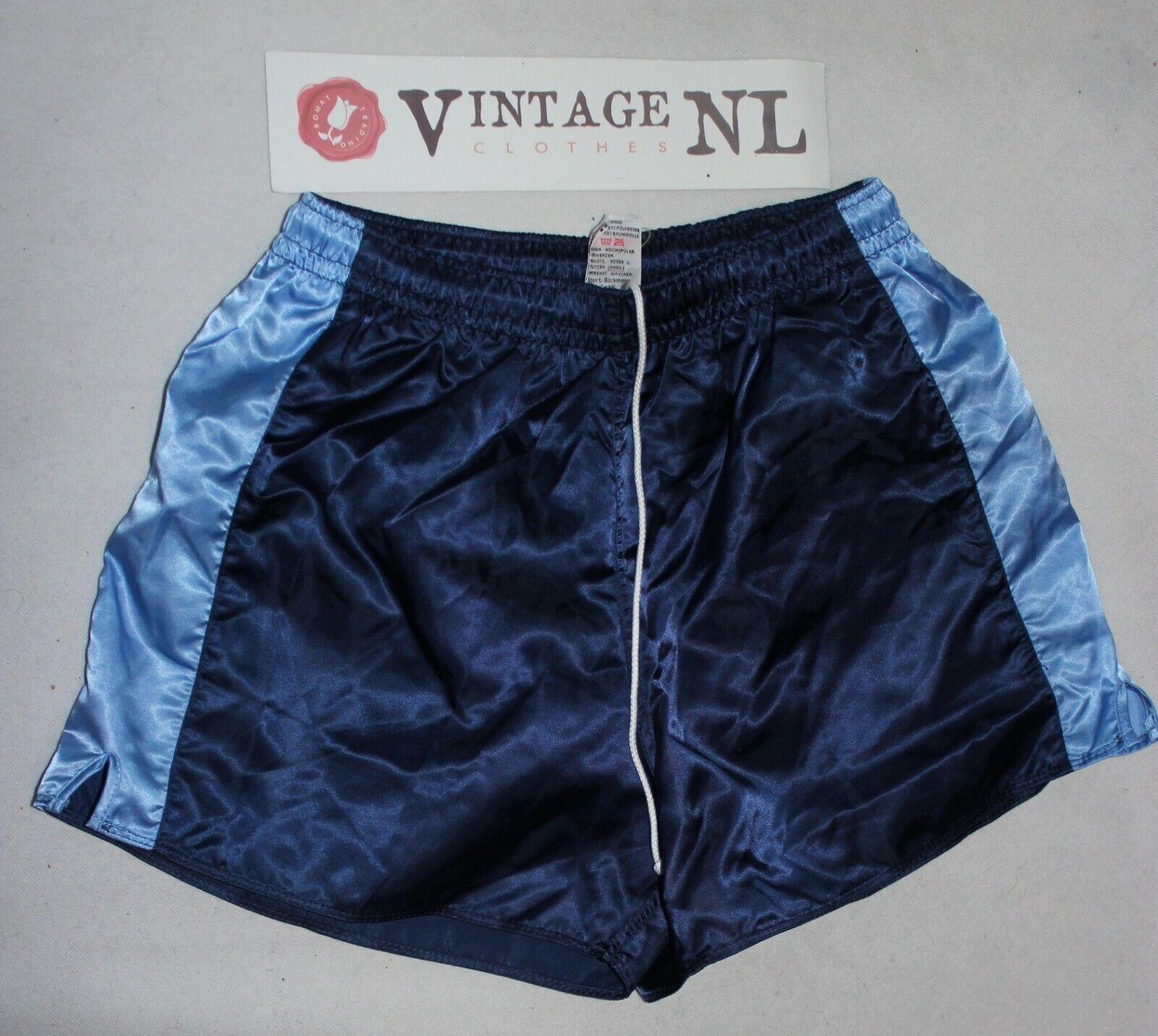 VINTAGE FINALE SPORT GLANZ  nylon short Shorts GR 7  L
