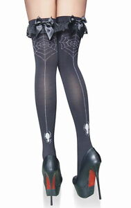 BAS-TOILE-D-039-ARAIGNEE-COSTUME-DEGUISEMENT-CARNAVAL-HALLOWEEN-LINGERIE-SEXY-79043