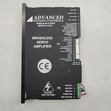 Advanced Motion Controls Brushless Servo Amplifier Cb30a2b X07 B25a01q Inv