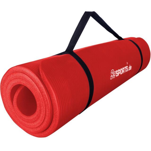 REXOO Pilates Yogamatte Fitnessmatte Gymnastikmatte Sportmatte Matte in Verschiedenen Farben