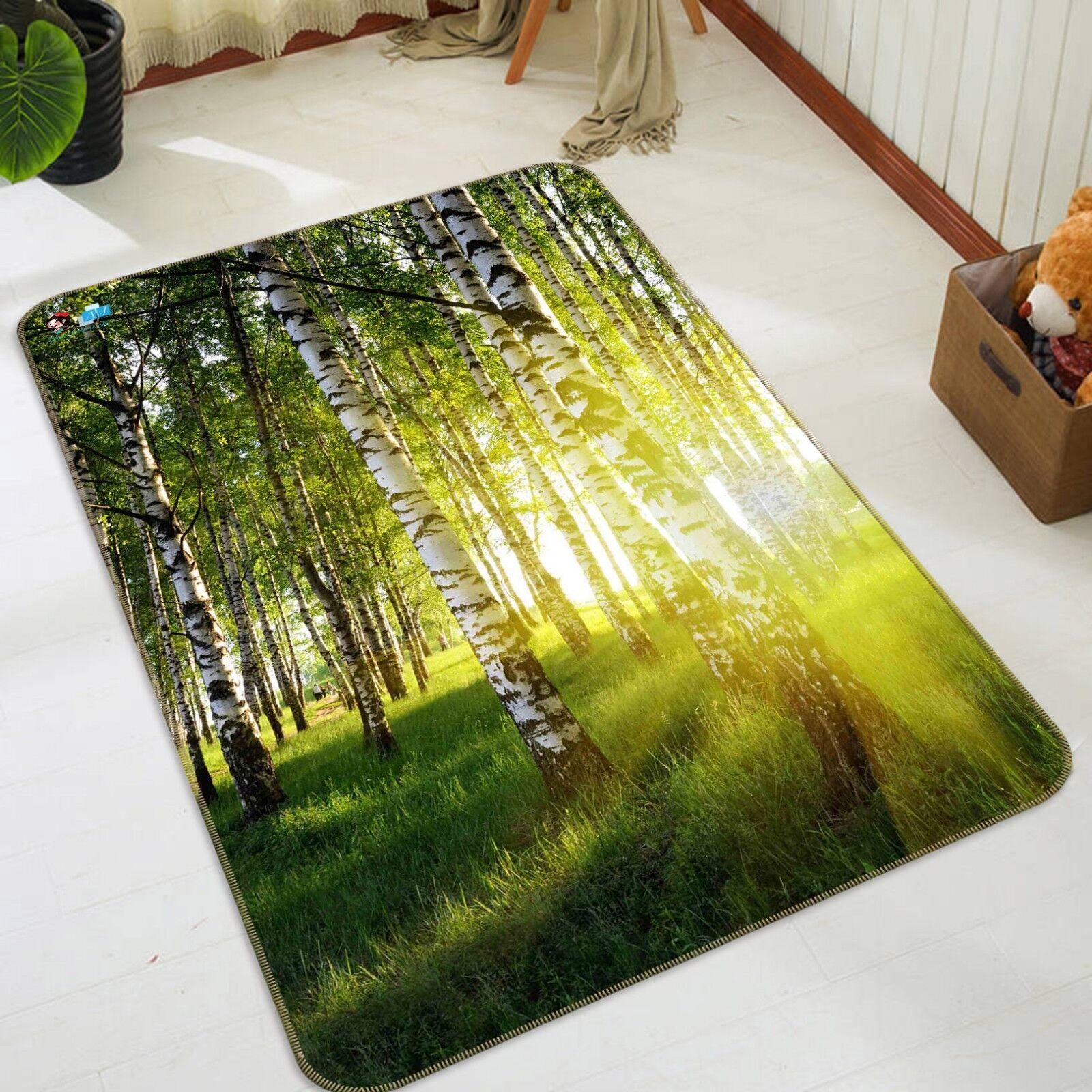 3D Forest Soleil 117 Étage Antidérapant Natte Natte Antidérapant Élégant Tapis FR Tiffany 93eda7