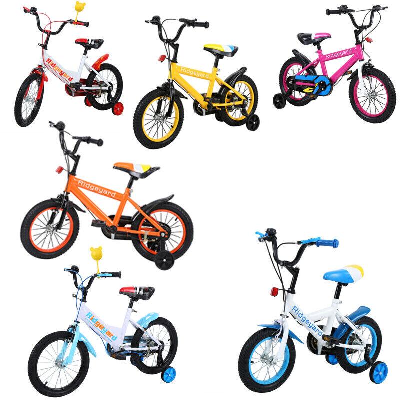 Ridgeyard Kinderfahrrad Kinderrad Fahrrad Kinder 12 14 16 Zoll Rad Jungenfahrrad
