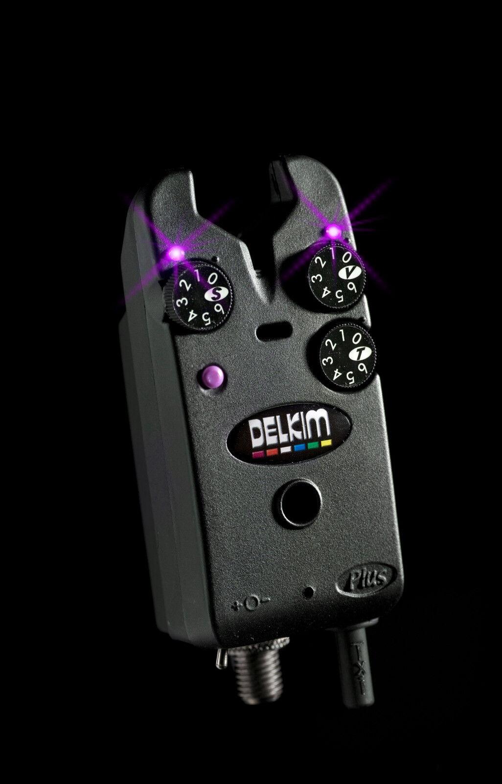 Delkim Tx-I Plus Elektronischer Bissanzeiger - Lila   Txi