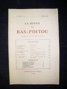 Revue Du Bas Poitou - Vendée 1950...1953 - Imp. Lussaud Fontenay Le Comte Ventes Bon Marché