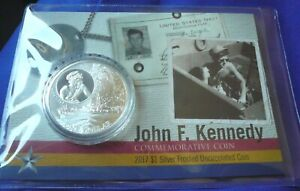 2017-John-F-Kennedy-JFK-Solomon-Islands-1-oz-999-Silver-Frosted-UNC-Round-Coin