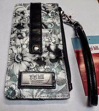 Gigi Hill TANYA FLEUR DE LIS Women's Mini Wallet / Wristlet with 10 Card Slots