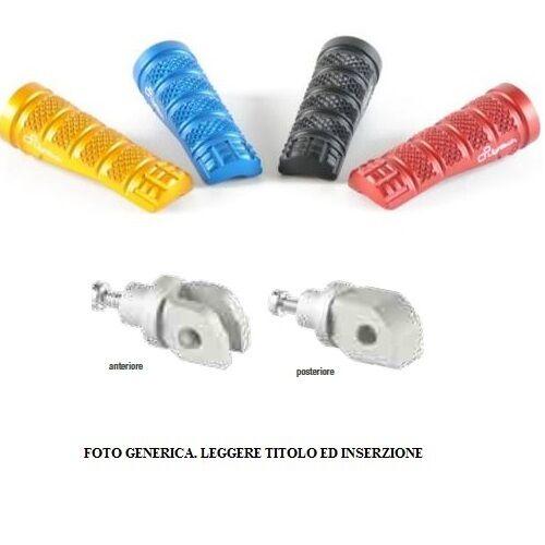 Reposapiés + Adaptadores Ant. Rossi Lightech Kawasaki ZX6-R-ABS 13-15