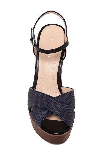 NIB Pour La Victoire Dakota Block Block Block Heel Sandal 7.5-9  325 64c8d3