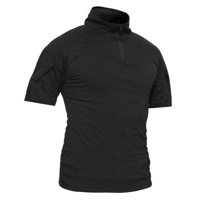 TACVASEN Tactical Military Combat Shirts Pullover Moisture Wicking Army T-Shirts