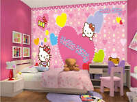 Melting Hello Kitty 3D Full Wall Mural Photo Wallpaper Printing Home Kids  Decor