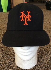 New York Giants Roman Pro Hat Cap 7 1 8 Baseball Fitted