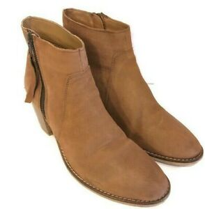 Urban-Outfitters-UO-Ladies-Booties-Boots-Brown-Leather-Size-8-5