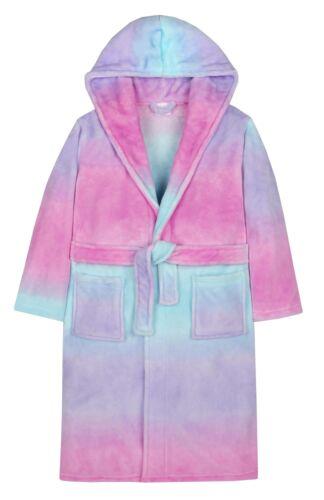 Robe ~ 2-13 Years Girls Rainbow Gradient Dressing Gown
