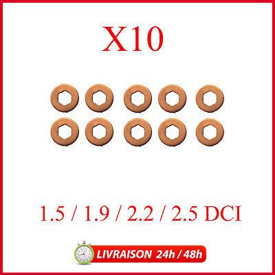 Sigilli Per Nissan Kubistar 1.5 DCI-confezione da 4 Iniettore Diesel RONDELLE