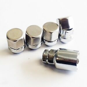 3-8-034-Chrome-Tapered-Closed-Locking-Wheel-nuts-x-4-fits-Classic-Mini