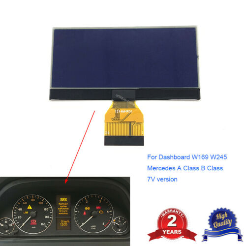 INSTRUMENT CLUSTER LCD DISPLAY FOR MERCEDES A B CLASS W169 W245 DASHBOARD 7V