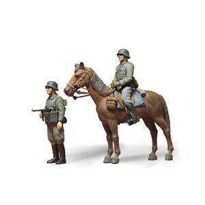 35053-Tamiya-Plastic-Kit-German-Mounted-Infantry-Scale-1-35th-Model