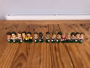 15x-Various-England-International-Football-Corinthian-Figures-1995-to-2002-GQ