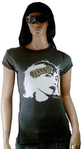 G Face Amplifié Impression Vintage Harry Blondie shirt Rock Debbie Chaud Or m T Star awU17qaH