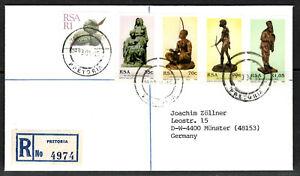 100% De Qualité Rsa R Cover Pretoria 15.04.1993 Comp. Phrase Sculptures Sculpteur Anton Van Wouw-afficher Le Titre D'origine Doux Et LéGer