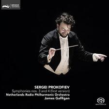 Prokofiev / Netherla - Symphonies 3 & 4 (First Version) [New SACD]