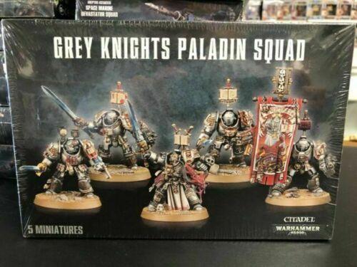 Heads 13x Grey Knights Paladin Squad *Big Pack*