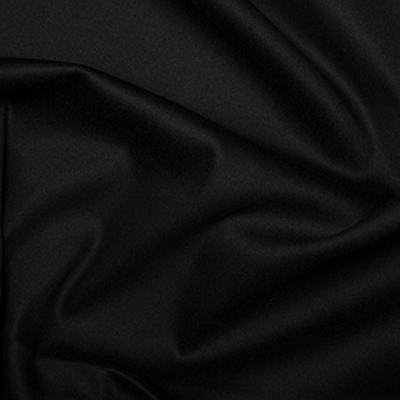"Plain Cotton Stretch Sateen Fabric Material - 146cm (57"") wide, 15 Colours"