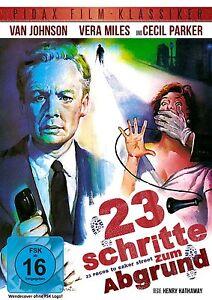 23-Schritte-zum-Abgrund-DVD-Krimi-Thriller-Van-Johnson-Pidax-Film-Neu-Ovp