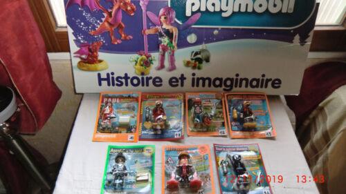 FIGURINE DE MAGAZINE PLAYMOBIL //PAUL MEDECIN URGENTISTE   EDITION LIMITEE F10