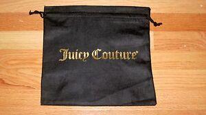 NEW-Juicy-Couture-Drawstring-Storage-Dust-Bag-Black-12-034-x-12-034